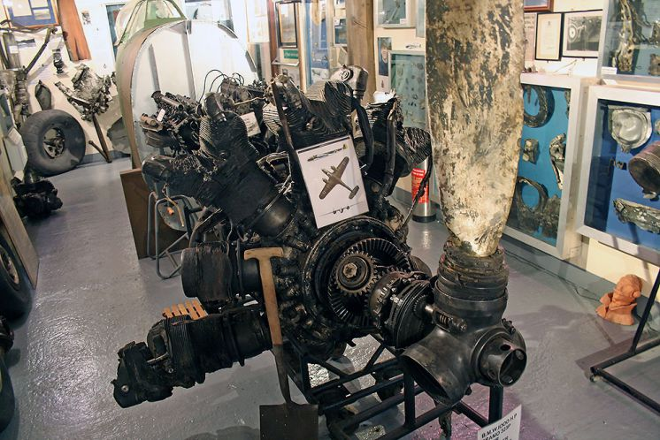 Dornier Do17Z-3 Engine
